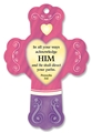 Direct Your Path - Ripe Berry Heart Fresheners Cross