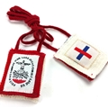 Five Fold Wool (Redemptorist) Scapular