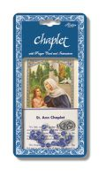 St Anne Chaplet with Prayer Card