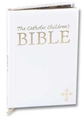 First Communion Childrens White Bible