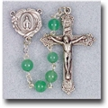 6 mm Genuine Gem Stone-Adventurine Rosary