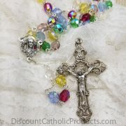 Multi-Color Crystal Bead Rosary
