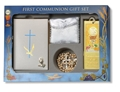 Blessed Trinity Pearl Edition White Cross 6 Pc. Deluxe Communion Gift Set