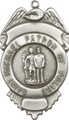 St. Michael - Patron Saint of Police Badge Key Chain