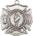 St. Florian Patron of Firefighter Keychain