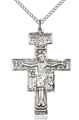 San Damiano Crucifix Pendant - Silver or Gold