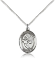 Basketball Sterling Silver Sports Medal