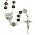 St Benedict Brown Rosary
