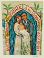 I Baptize You Greeting Card - Jen Norton