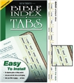 Slim Line Protestant Bible Index Tabs