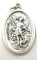 St. Michael Inexpensive Oxidized Medal