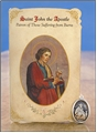 St John the Apostle (Burns) Healing Holy Card with Medal