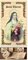 Saint Therese Patron Saint Prayer Folder
