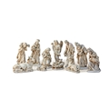 8 Inch Alabaster Nativity Set