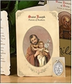 Saint Joseph (Realtors) Holy Card with Medal