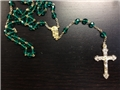 Irish Mt. Carmel Emerald Rosary