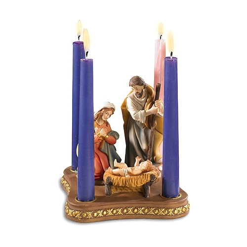Christmas Candle Rings Wreaths