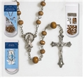 Rosary Making Kit - Wood Bead