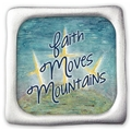 Faith Moves Mountains Fridge Magnet