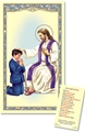 Boy Laminated Act of Contrition Prayer Card