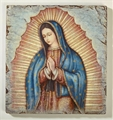 Our Lady of Guadalupe Bust Marco Sevelli Plaque