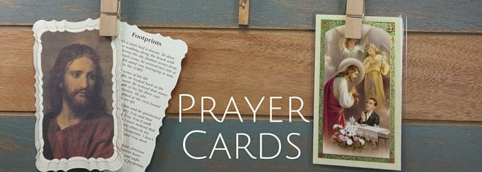 Catholic Prayer Cards
