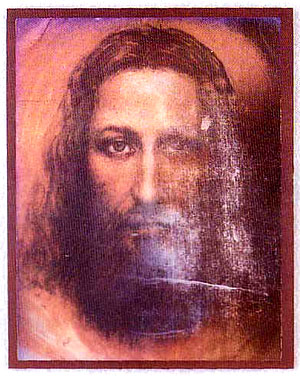 Shroud of Turin/Face of Jesus 3D images