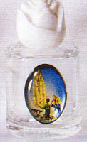 Lady of Fatima Holy Water Bottle - Without Water