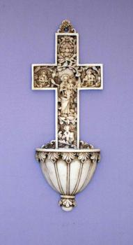 "9"" True Church Cross Font"