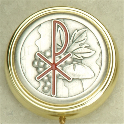 Communion Harvest Pyx/Rosary Case