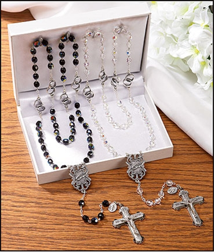 Wedding Rosaries Gift Set