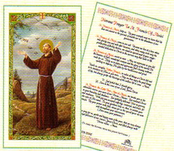 St francis novena prayer