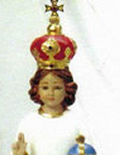 Infant Jesus Statue with Crown