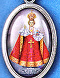 Saint medals with picture pendants