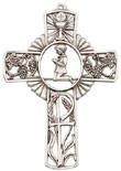 Boy Pewter Communion Cross