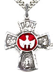 Confirmation 5-Way Sterling Silver Pendant