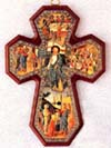 Miracles Devotional Wooden Wall Cross