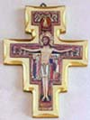 55 Inch San Damiano Wooden Wall Cross