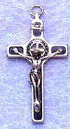 St Benedict Black Crucifix