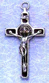 St Benedict Brown Crucifix