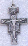 2 Inches San Damiano-Crucifix