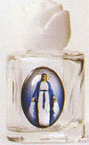 Lady of Grace Holy Water Bottle - Without Water