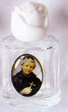 St. Peregrine Holy Water Bottle - Without Water
