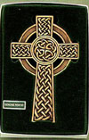 5 inch Bronze Celtic Wall Cross Classic