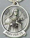 St. Therese Pewter Key Chain
