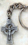 Irish Cross Key Chain