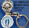 Divino Nino-Lady of Grace Key Chain
