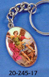 Michael the Archangel Key Chain