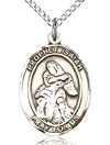 St Isaiah the Prophet Sterling Silver Medal
