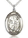 St James Sterling Silver Medal